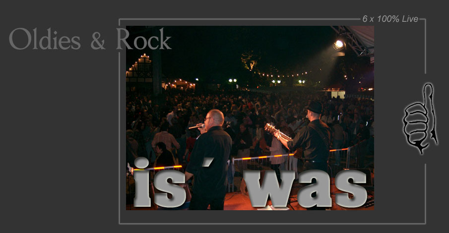 IS``  WAS    ...die Liveband